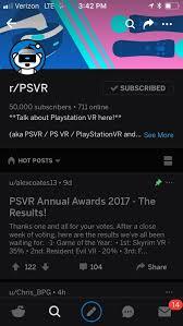 50 000 subscribers psvr psvr