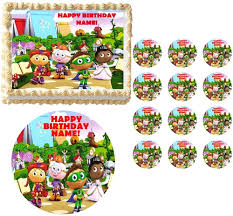 umizoomi cake toppers why characters edible cake topper frosting sheet all sizes