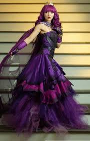 mal costume mal costume descendants 2 purple cotillion dress mal
