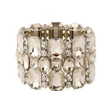 rhinestone bangles bracelet images Buy luxury big chunky crystal rhinestone elastic jpg