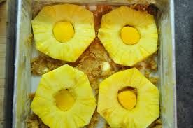 pineapple u0026 champagne mango upside down cake farmgirl gourmet