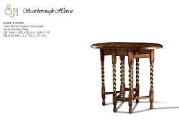 scarborough house sh06 110703 small gateleg table