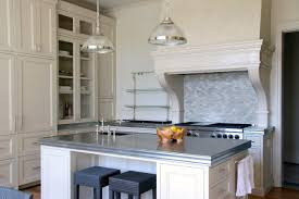 kitchen island tops furniture counter tops in small kitchen and modern look with zinc