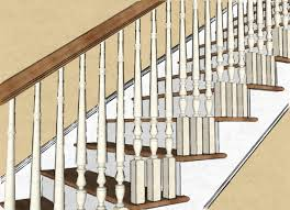 Spindle Staircase Ideas Minimalist Wrought Iron Stair Balusters Designs Home Decorations