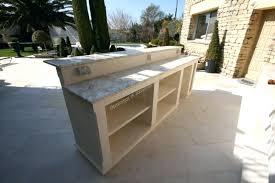 cuisine exterieure en meuble de cuisine exterieur comptoir et amacnagement cuisine