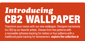 cb2 introducing our new wallpaper milled