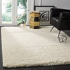 Best Way To Clean Shaggy Rugs Amazon Com Safavieh California Shag Collection Sg151 1212 Ivory