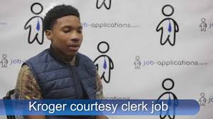 kroger interview courtesy clerk youtube