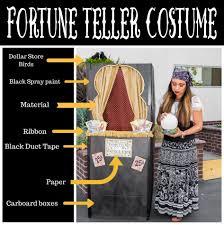 fortune teller halloween costume ideas diy fortune teller halloween costume crowned creations