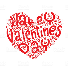 happy valentines day banner heart symbol happy valentines day stock vector 512114322