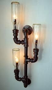 Steunk Light Fixtures Pipe Decorating Ideas Steunk Diy Light Fixture Steunk