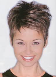 short hairstyle with longer top hair and super short sides