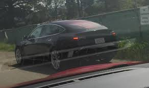 new tesla model 3 spy photos and videos increase speculation