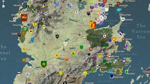 Usa Geography Map Games by Google Maps Fans Take On The Insane Geography Of Game Of Thrones