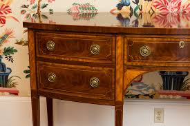 Baker Sideboard Igavel Auctions Baker Inlaid Mahogany Sideboard For The Historic