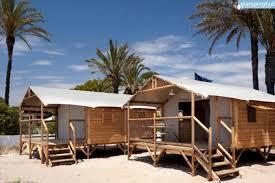 luxury beach cabins in spain