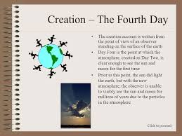 what day did god create light old earth ministries homeschool series creation the fourth day