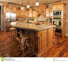 Centre Islands For Kitchens by Contemporary High End Natural Wood Kitchen Designs Island With Bar