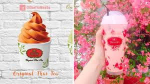 tra you can now have cha tra mue thai milk tea soft serve ice cream