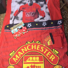 Manchester United Bed Linen - manchester united curtains and duvet posot class