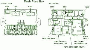 accord fuse box honda wiring diagrams for diy car repairs