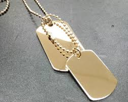 engraved dog tags for men mens dog tags etsy
