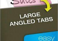 hanging file folder label template professional samples templates