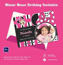 diy minnie mouse birthday invitations gallery invitation design
