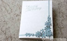 how to make simple birthday card easy diy craft projects