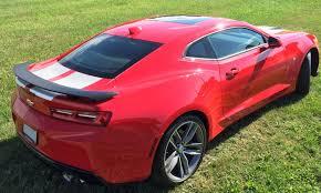 camaro rear spoiler 2016 2018 camaro 6th rear spoiler kit southerncarparts com