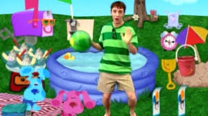 sesame street pool party blue u0027s clues pool party youtube