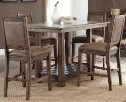 liberty furniture stone brook casual 5 piece gathering table set