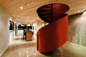 interior modern design with spiral stairs contemporary antique