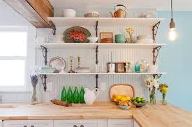 open kitchen shelves decorating ideas beautiful decorating ideas for kitchen shelves pictures