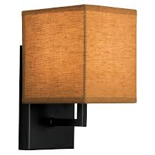 Portfolio Wall Sconce Shop Portfolio 5 1 In W 1 Light Black Pocket Hardwired Wall Sconce