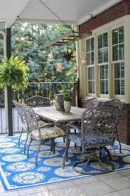 Outdoor Patio Decor by Decorating Exciting Blue Chevron Outdoor Rugs Walmart For