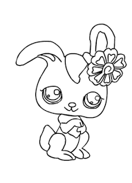 rabbits coloring pages pet shop rabbit coloring page free printable coloring pages