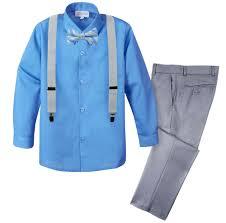 boys light blue dress pants spring notion boys 4 piece dress up pants set light grey sky blue