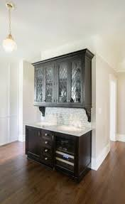 Butlers Pantry With Leaded Glass Waypoint Living Spaces Style - Leaded glass kitchen cabinets