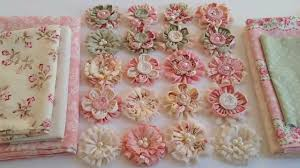 shabby flowers gorgeous shabby chic fabric flowers