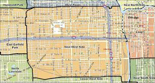 chicago map side near west side chicago real estate homes for sale
