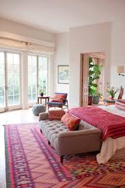 Red Patterned Rug Bedroom Furnitures Bedroom Fancy Design Of Country Area Rug With