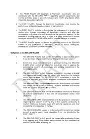 Agreement Letter Template Between Two Parties Memorandum Of Agreement