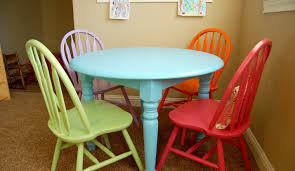 Painted Kitchen Table Ideas by Brilliant Painted Kitchen Table And Chairs For Sale Tags Painted