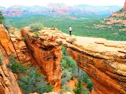 sedona arizona hiking devil s bridge in sedona arizona cheers to adventure