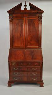 Secretary Desk With Hutch by Antique Style Secretary Desk Colonial Secretary Desk