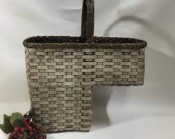 handwoven baskets made in michigan by jgbaskets on etsy