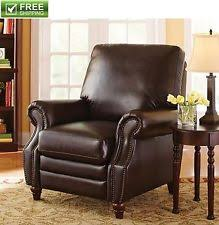 leather reading chair reading chair ebay