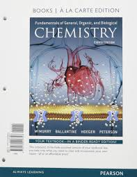 fundamentals of general organic and biological chemistry books