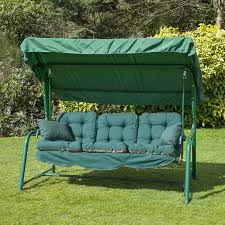 decor patio swing seat cushions with swing cushions and green